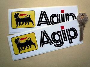 "AGIP 6/"" F1 Ducati MV WSB Tool Box Car racing stickers Super Bike pack of 2"
