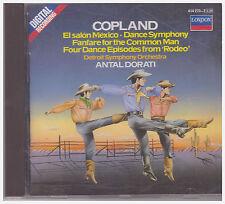 COPELAND ORCHESTRAL WORKS / DORATI, DETROIT SO (CD, 1984, London/Decca)