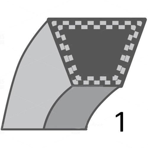 TC142T 241,3 583 58 16-01 246,3 CM Keilriemen Husqvarna TC142 5835816-01