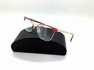 615262ba2b6 Prada Pink Eyeglasses VPR 65Q PDN 1O1 53 mm Havana Gold Italy ...