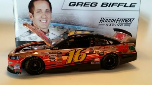 2013 GREG BIFFLE ACTION LIONEL FORD FUSION 3M COPPER 1:24 SCALE NASCAR DIECAST