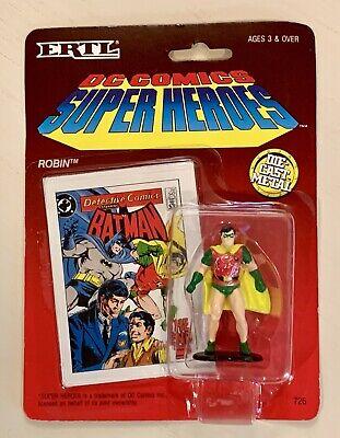 """1990 ERTL DC Comics Super Heroes Robin Die Cast Metal 2.5"""" Figure #726"""