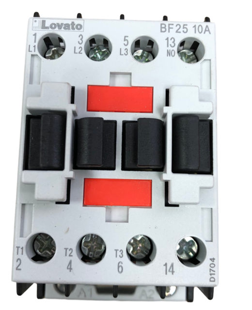 lovato BF25 10A 24vac contactor BF2510A  relay DIN rail mount