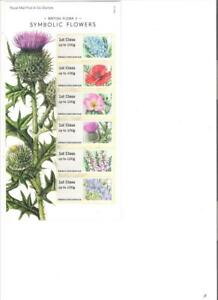 2014-ROYAL-MAIL-POST-AND-GO-SYMBOLIC-FLOWERS-SPECIAL-PACK