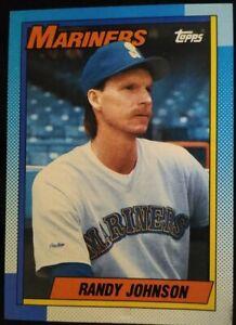 Randy Johnson 1990 Topps #431 Baseball Card