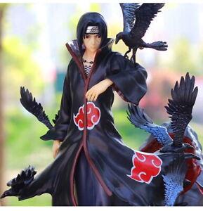 Uzumaki Naruto Uchiha Itachi Akatsuki Action Figure Shippuden Anime Model W/ Box