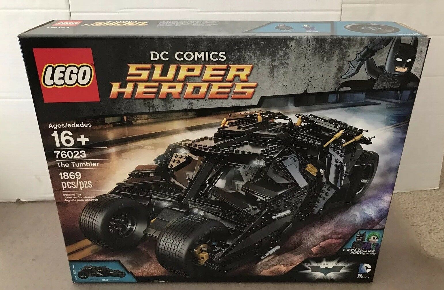 LEGO DC COMICS Super Heroes Heroes Heroes The Tumbler (76023) New Sealed RetiROT 38d87c