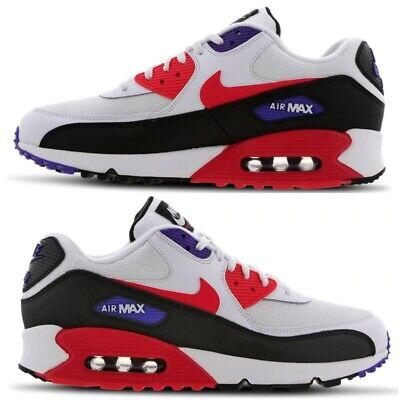 Nike Uomo Air Max 1 Leather Premium (red gym Rosso Nero