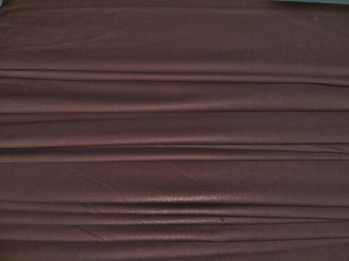 STRETCH COTTON BROWN-DRESS FABRIC-FREE P/&P