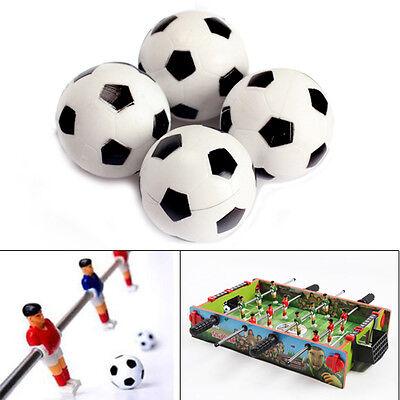 4pcs 32mm Plastic Soccer Table Foosball Ball Football Fooseball Ball Football