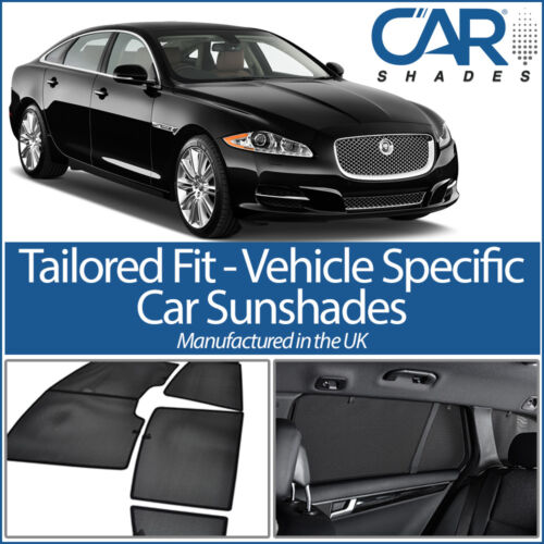 Jaguar XE 4dr 2015 on UV CAR SHADES WINDOW SUN BLINDS PRIVACY GLASS TINT BLACK