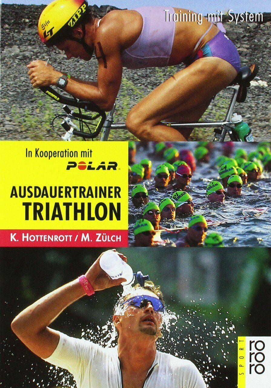 Ausdauertrainer Triathlon v. Hottenrott / Zülch Taschenbuch Neuwertig - Hottenrott und Zülich