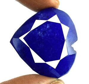 1.50 Ct Natural Blue Sapphire Star Shape Gemstone VS Clarity AGI Certified CD5