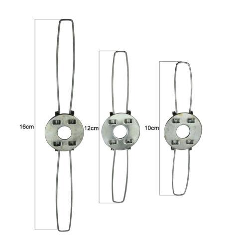 Abat-Jour Ressort Clip Maintien pour Abat-Jour Lampe Pièce Choix de 6 Tailles Ru