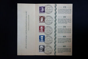 Germany-Goethe-Stamps-1949-First-Day-Folder