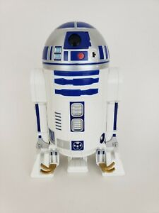 Heart-Art-2009-Star-Wars-R2-D2-Small-Mini-10-034-Desk-Trash-Can-HTF-Wastebasket