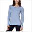 SALE-Women-039-s-CHAMPION-Long-Sleeve-Crew-Neck-Tee-T-SHIRT-SOFT-PULLOVER-C15 thumbnail 14