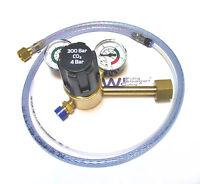 Single Stage 2 Gauge Co2 Mig Welding Regulator With Adaptor For Pub Gas Bottles