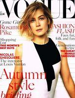 VOGUE UK October 2014 ROSAMUND PIKE Anna Ewers NATALIE WESTLING Iselin Steiro