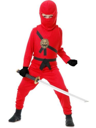 Charades Ninja Avenger Warrior Series Childrens Kids Halloween Costume 84372