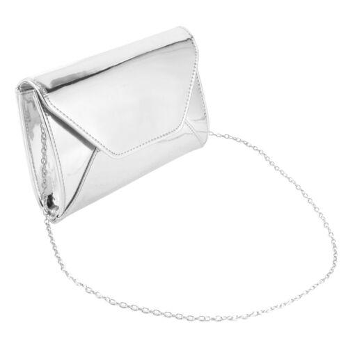 Anladia Clutch Abendtasche PU Leder Geldbeutel Handtasche Schultertasche