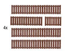 Zaun Neu Vollmer 5015 Zäune 1:87 Bretterzaun Bauzaun H0 Zubehör Bausatz