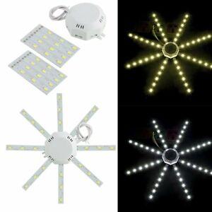 5730smd High Bright Led Celling Lamp White Octopus Shape Kitchen Lamp Bedroom Light 12w 16w 20w 24w Energy Saving Fuli Lights & Lighting