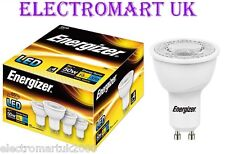 4 X ENERGIZER GU10 LED 5W EQUIVALENT TO 50W LIGHT BULB COOL WHITE DAYLIGHT 6500K
