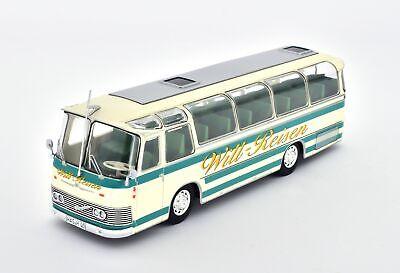 Fiat 412//1 Aerfer 1:43 Historischer Bus Fertigmodell Die-Cast Metall