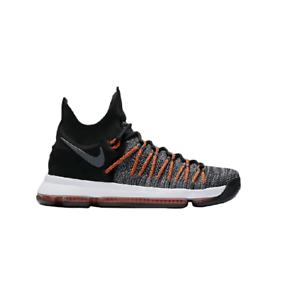 Détails sur Homme Nike Zoom KD9 Elite Noir Basketball Baskets 878637 010 afficher le titre d'origine