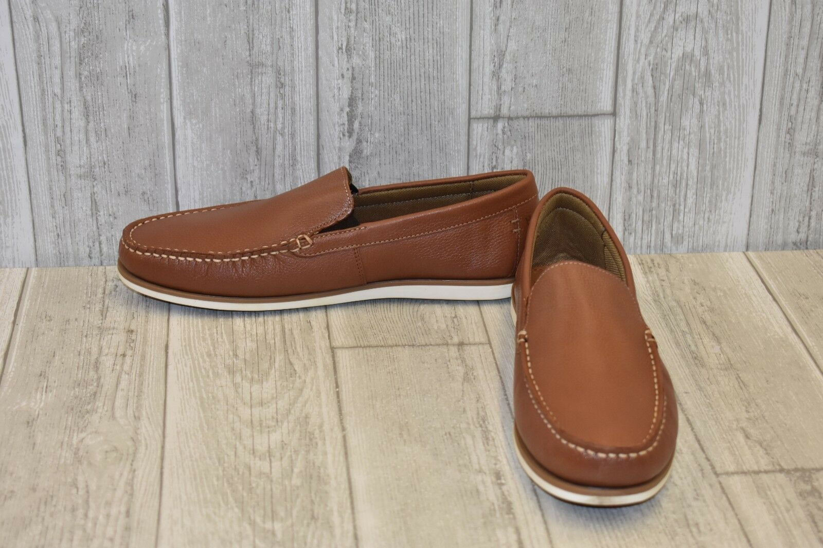 Hush Puppies- Bob Portland Loafer, Men's Size 8.5 EW, Tan