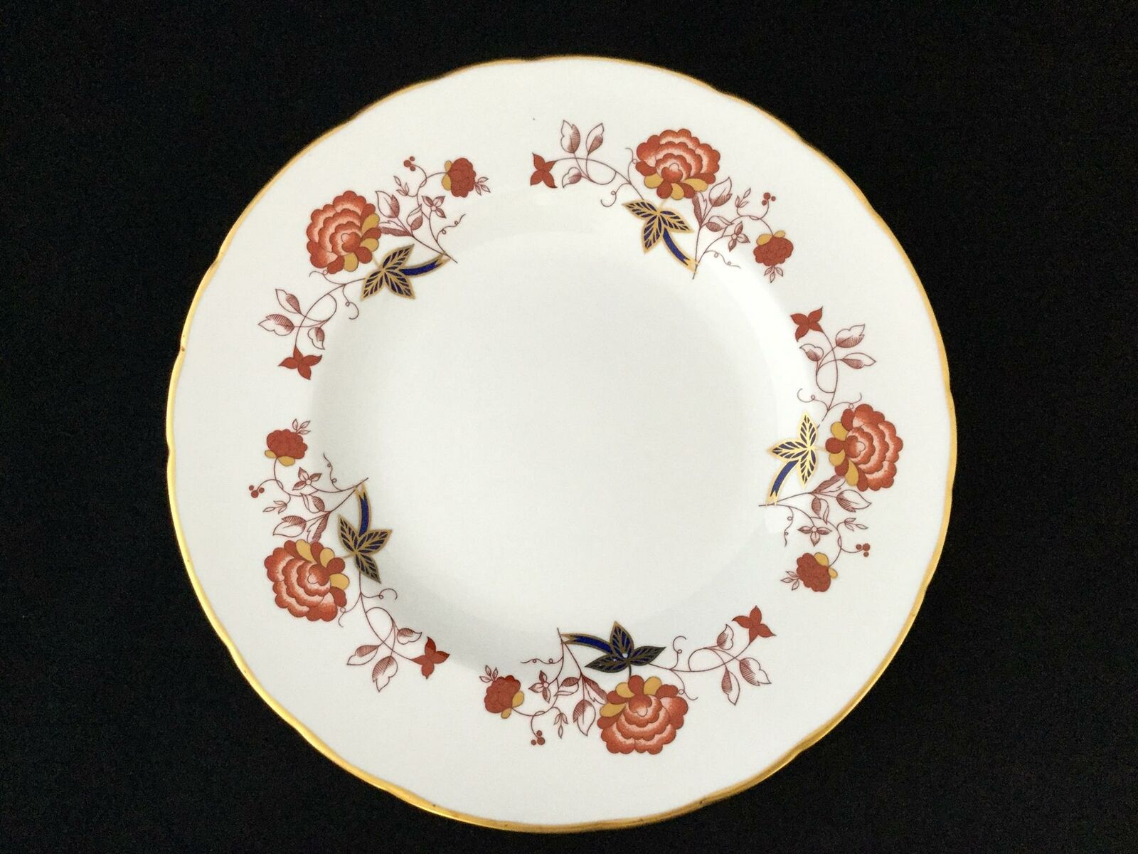 Lot de 8 Royal Crown Derby Ely Chelsea BALI A.1100 XL 10 1 2  assiettes