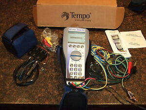tempo sidekick plus digital stress leakage voltage telecom tester rh ebay co uk Tempo Sidekick TN Tempo Sidekick Repair