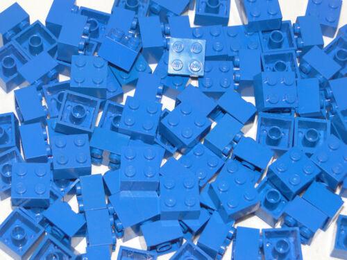 Lego Basic 100 x Blau 2x2 Stein 2x2x1 Baustein