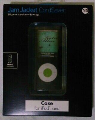 DLO Jam Jacket Cord Saver Case W// Cord Storage iPod Nano 4 4th Generation NEW!