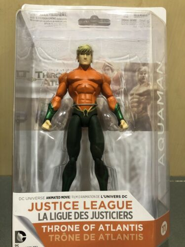 Throne of Atlantis Action Figure-Aquaman US Vendeur DC Comics Justice League