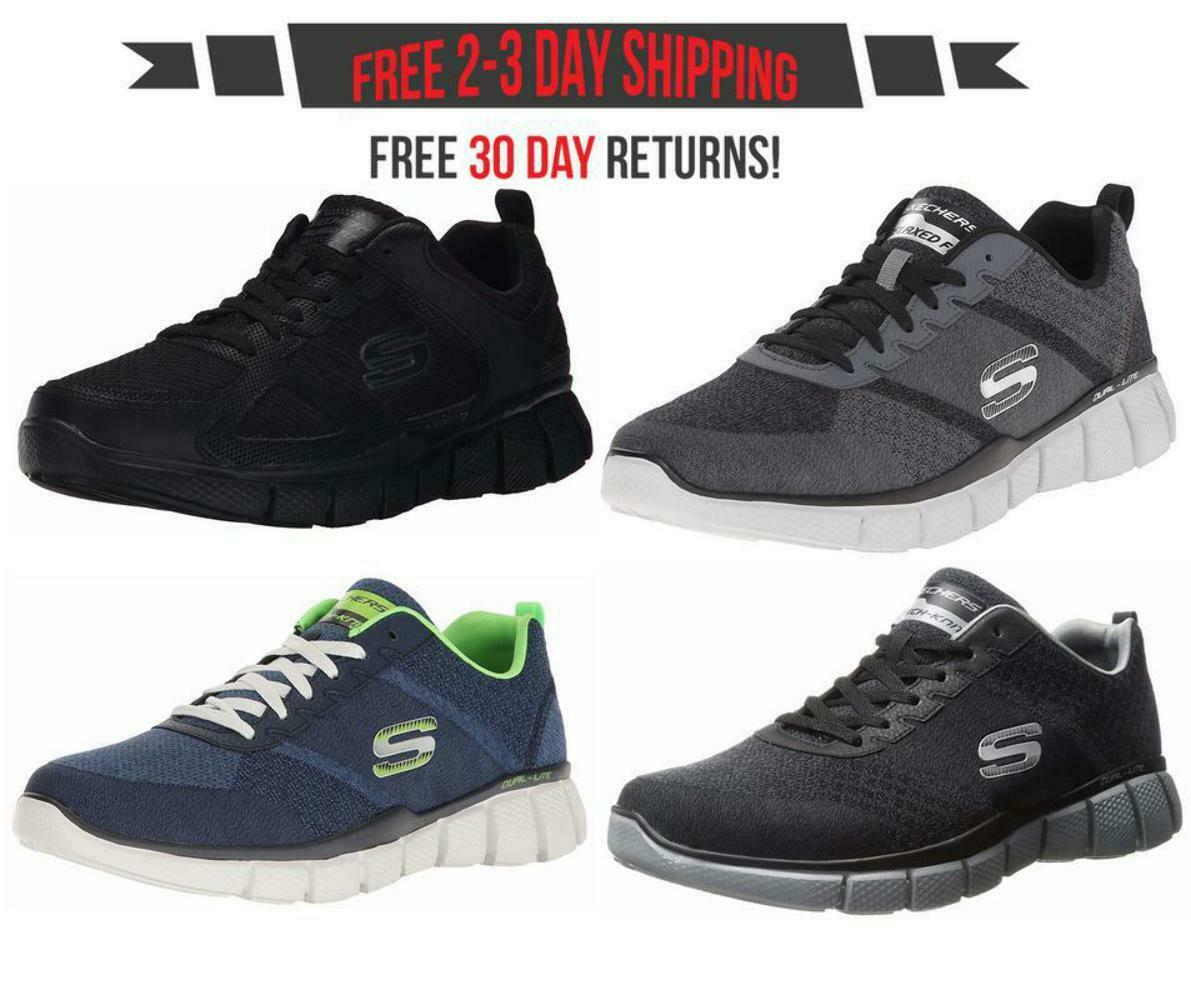 Skechers Equalizer 2.0 Men's Fashion Sneakers True Balance, On Track Extra Wide