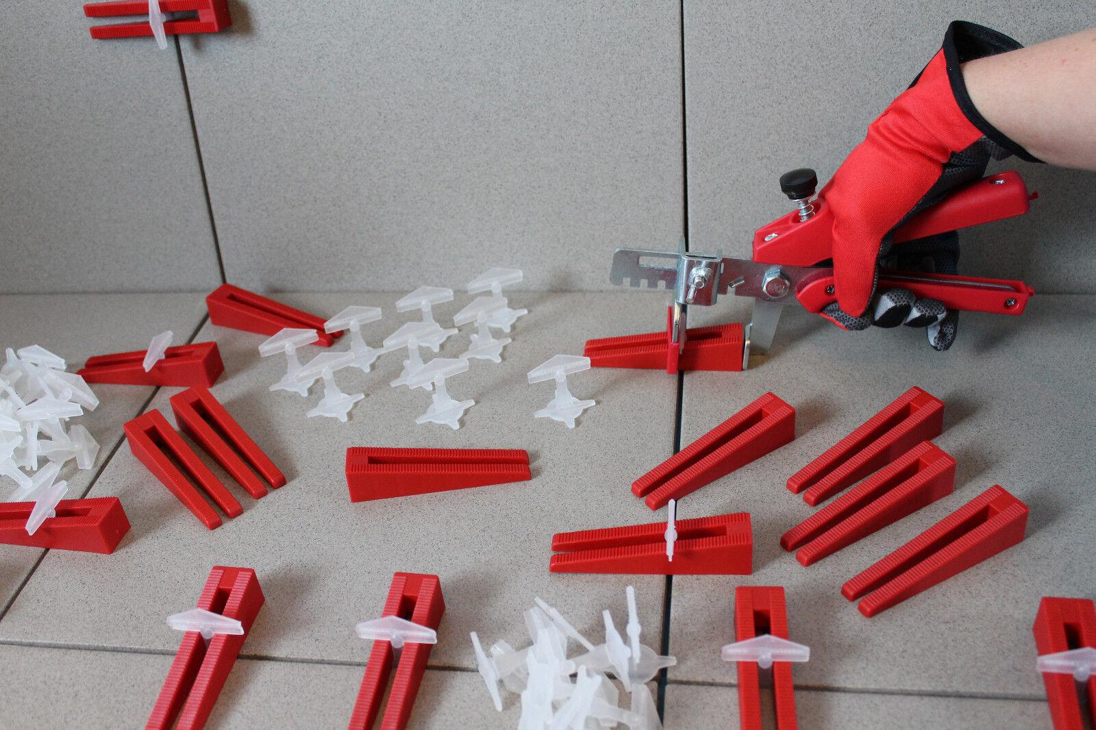 KABOUFIX Fliesen Nivelliersystem Verlegehilfe Lasche Keil Fliesen plan verlegen   Lebhaft und liebenswert    Erste Klasse in seiner Klasse    Qualität Produkt