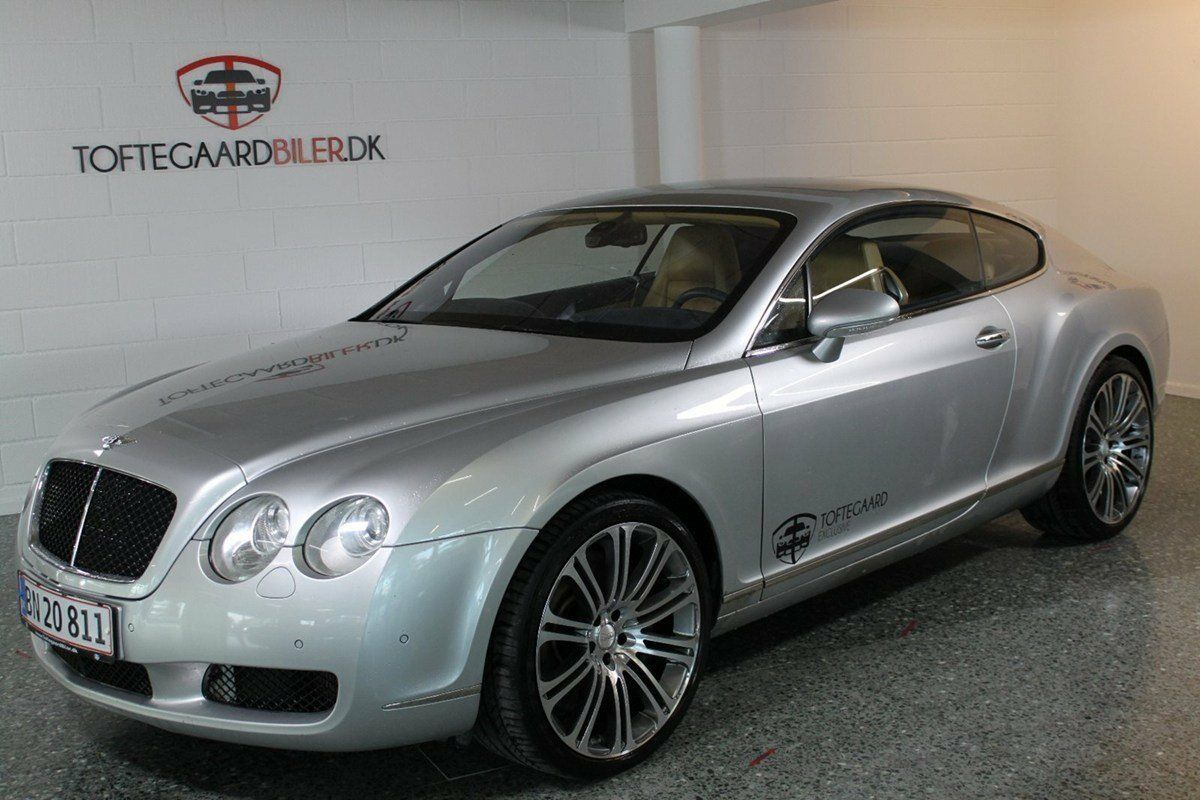 Bentley Continental GT 6,0 aut. 2d