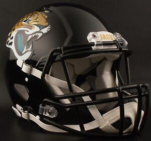 40b01020 Details about ***CUSTOM*** JACKSONVILLE JAGUARS NFL Riddell Speed AUTHENTIC  Football Helmet
