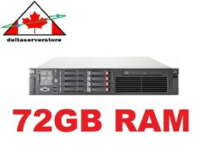 HP-DL380-G6-2x-Intel-X5560-2-80Ghz-Quad-Core-XEON-72GB-RAM-4x-146GB-SAS-HD-2x-PS