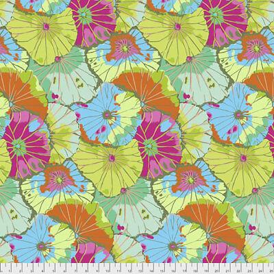 Lotus Leaf LIME Cotton Quilting Fabrics 1//2 Yard Kaffe Fassett