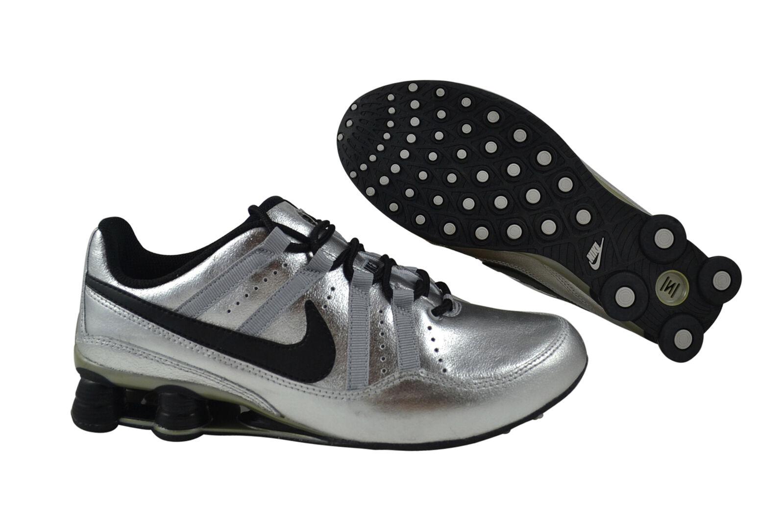 Nike Shock Beule metallic silver black Sneaker silber 316092 002