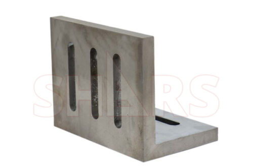 """Shars Precision Ground .0005/"""" Open End Angle Plate 4-1//2x3-1//2x3/"""" New"""
