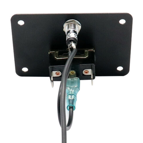 12V 15A Boat Anchor Winch Windlass UP//DOWN Toggle Switch Control Panel With LED