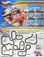 2001 Tyco Canada 440-x2 Slot Car Formula World Tour 12' Race Set Mclaren+ferrari