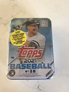 2021 Topps Series 1 Baseball Collector's Tin 🔥 Aaron Judge 1952 Inserts, Chrome