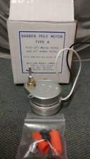 Marvy Type A Barber Pole Motor With Cross Pin