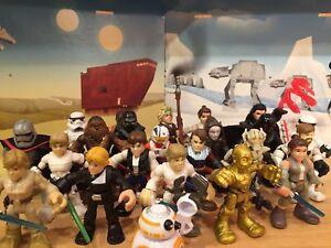 Playskool-Star-Wars-Galactic-Heroes-2-5-034-Figures-Choose-1-or-More-Combine-Ship