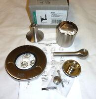 Hansgrohe 37930821 Axor Terrano Trim Quattro Diverter W/lever Brushed Nickel